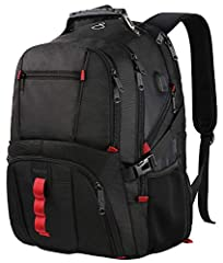 Features:       The large capacity(45L) stylish backpack with 20+ organizer pockets could meet your various needs, which is perfect for day-to-day use or occasional travel.Premium Material: Made of superior quality polyester fabric wit...