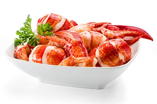 Frozen Lobster Meat - Maine Lobster Now - 2 Pounds Fresh Maine Lobster Meat