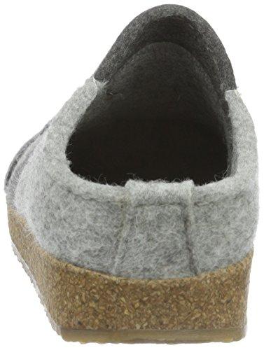 Haflinger Pantofole Low Delle steingraumeliert Grigio Donne 84 Puntini Grau top qUO4Ew