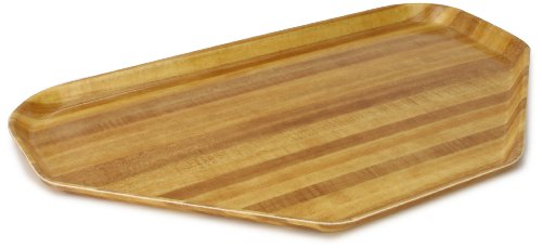 Carlisle Glasteel Butcher Block (Carlisle 2214WFG092 Fiberglass Glasteel Wood Grain Trapezoid Tray, 22.00