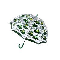 Bugzz Clear Dome Birdcage Kids Frog Umbrella