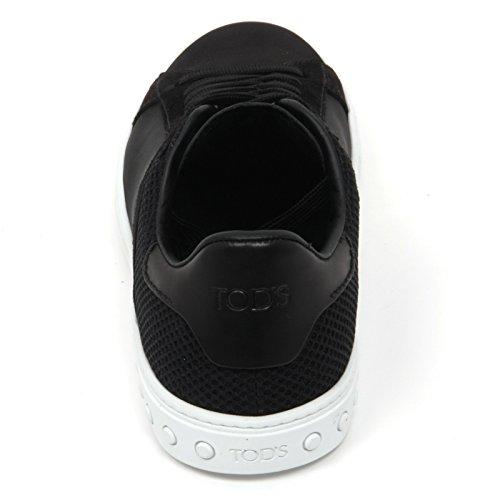 Tod's Cassetta Scarpa Sneaker Shoe B9776 Uomo Nero Man Nero rCzqHrtw