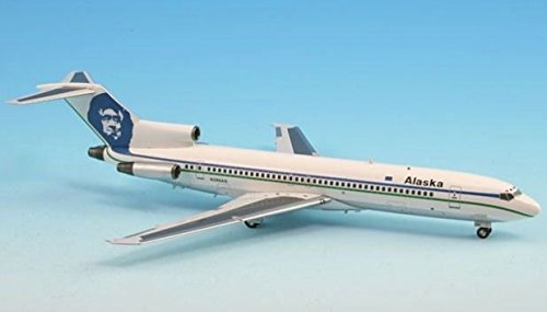 IF722021 InFlight 200 B727-200 Alaska Airlines Model Airplane