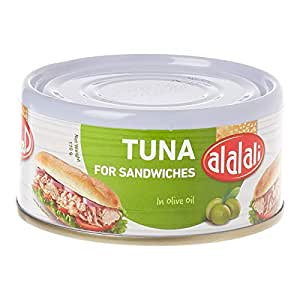 Al Alali Yellowfin Tuna For Sandwich Olive Oil, 170 g