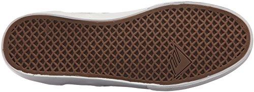 Emerica Wino G6 - Zapatillas de skateboarding para hombre Marfil marrón/blanco (Tan/White)