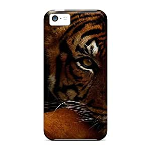 Defender Case For Iphone 5c, Stunning Tiger Pattern