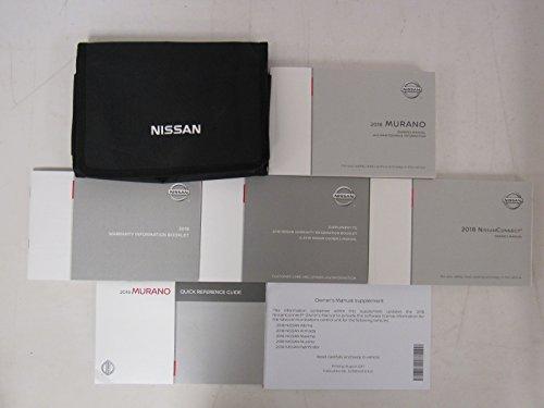 - 2018 Nissan Murano Owners Manual Guide Book