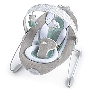 Ingenuity DreamComfort SmartBounce Automatic Bouncer Seat with Melodies- Pemberton, Ages Newborn +