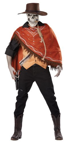 California Costumes Men's Outlaw's Revenge Adult, Brown, Medium