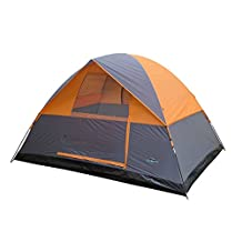 Stansport Everest Dome Tent, Grey/Orange