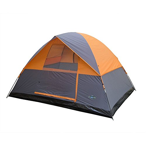 Stansport Everest Dome Tent, Grey/Orange by Stansport