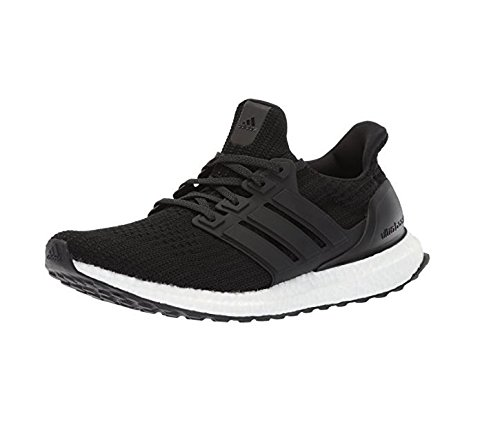 adidas Men's Ultraboost Road Running Shoe, Core Black/Core Black/Core Black, 11.5 M (Black Boost)