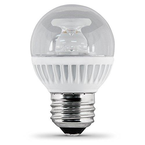 FEIT Utilitech 7.5-Watt (60W Equivalent) G16.5 Medium Bas...
