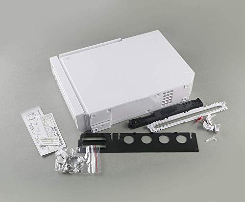 New Replacement Full Housing Shell Cover Case with Buttons for Nintendo Wii Console-White