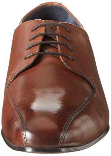 Joop! Itanos Philemon Lfu2, Zapatos de Cordones Derby para Hombre Marrón (Cognac)