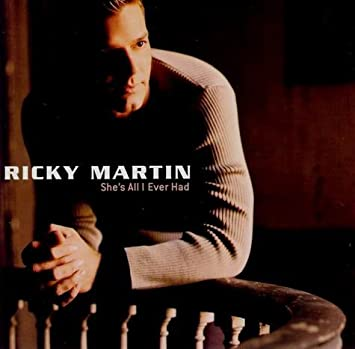 shes all i had ricky martin piano vocal sheet music
