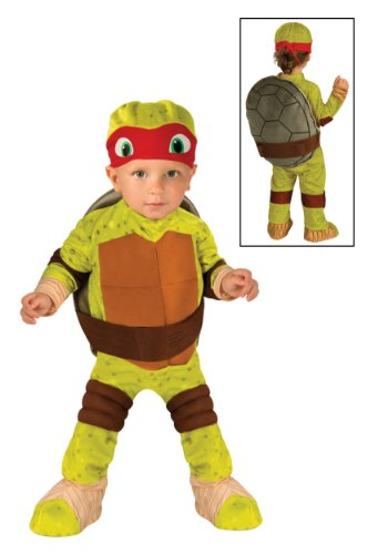 [Rubies Costume Co. Inc boys Little Boys' Toddler TMNT Raphael Costume Size 4/6] (Ninja Turtle Costumes Boys)