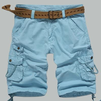 WDDGPZ Pantalones Cortos De Playa/Verano Carga Militar Mens Shorts ...