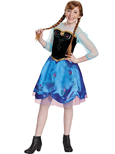Anna Traveling Tween Costume, X-Large (14-16)
