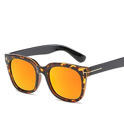 y gafas suaves TR mujer de polarizado de nuevas polarizador TR hombre haixin sol espejo gafas Solar general sol C super Retro qFcXwcTC4p