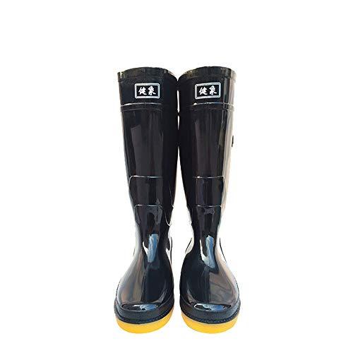Stivali Stivali Stivali Piano da per Alto Dimensione alcalina alcalina alcalina Stivali protettivi acida Protezione Hunter e la Olio del Boot Lavoro 40 Pioggia High Tube EU al Protezione q6f88w4