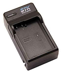STK's Nikon EN-EL14 Charger - for Nikon D3200, D3100, D5200, D5100, D5300, Df, D3300 DSLR, Coolpix P7800, P7700, P7000, and P7100 Cameras, EN-EL14 Battery, MH-24 charger