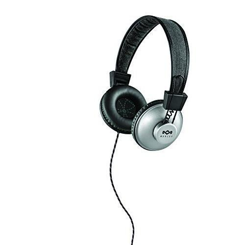 House of Marley EM-JH011-CQ Positive Vibration On-Ear, Charcoal