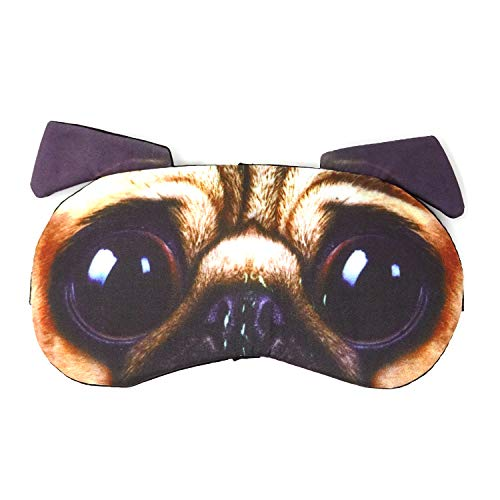 HONBAY 3D Funny Eyeshade Sleep Eye Mask with Adjustable Head Strap for Travel, Game, Party, Rest, Sleeping, etc