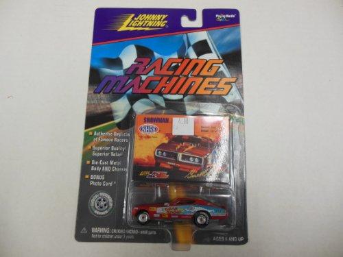 - Gene Snow, Snowman Replica Race Car 1:64 Scale Johnny Lightning Racing Machines
