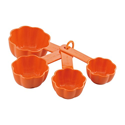 Gourmet Art 4-Piece Pumpkin Melamine Measuring Cup