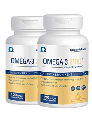 Ocean Blue Professional Omega Softgels