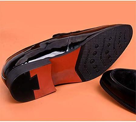 cc470eecdff Lxmhz Geniune Moderno Zapatos de Negocios Formales para Hombre ...