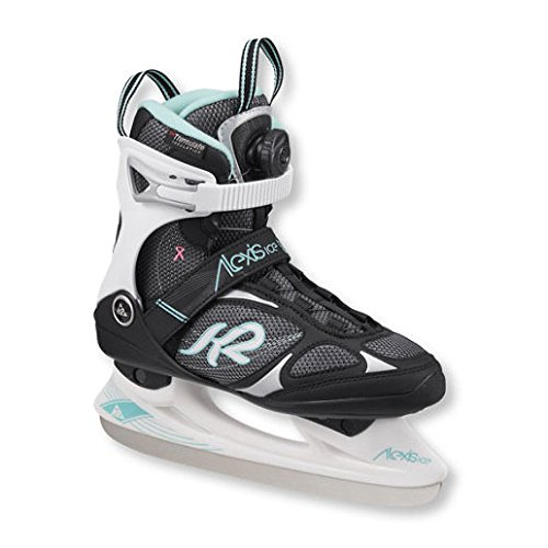 xis BOA Ice Skate, Black, Size 7 (K2 Boa Boots)
