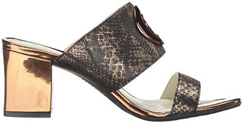 Anne Klein Kvinna Naomi Reptil Klack Sandal Brons / Multi Orm