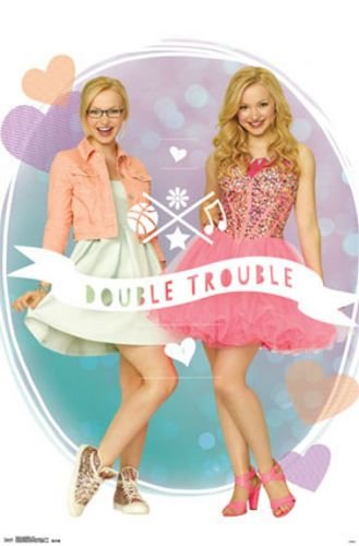 Amazon De Liv And Maddie Duo Double Trouble Dove Cameron Kunstdruck