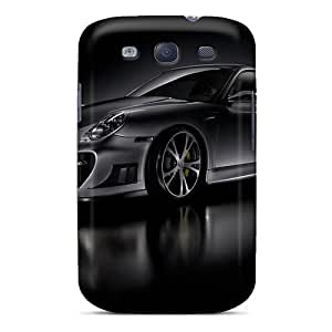Fashion Cases For Galaxy S3- Dark Porsche Gt Street Racing Hdtv 1080p Defender Cases Covers