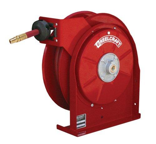 Reelcraft Spring Driven Water Air Hose Reel   Hose Inside Diameter  1 4    Hose Length 50
