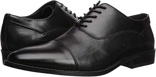 Unlisted by Kenneth Cole Men's Half Time Oxford Black Perf 11 M US