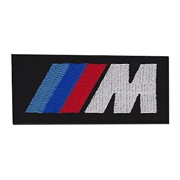 BMW M Power Logo Écusson brodé Badge Patch 10,2 cm coudre ou thermocollant aa7c1e70771