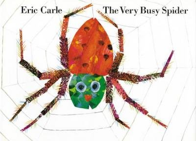 Busy Spider Very - [ The Very Busy Spider Carle, Eric ( Author ) ] { Hardcover } 2008
