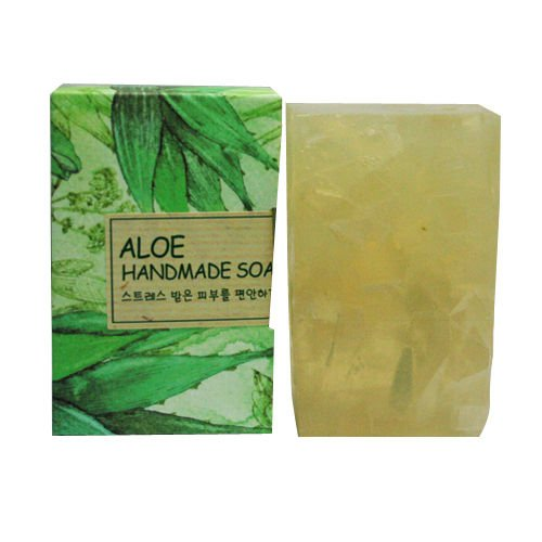 The-Face-Shop-Aloe-Handmade-Soap