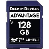 Delkin 128Gb SDXC Memory Card 633x (V30)...