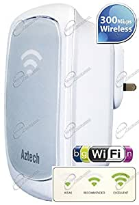 Range Extender Repetidor de Señal Wi-Fi Inalámbrico N 300MBps Aztech WL559