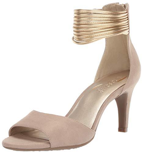 Aerosoles Women's Glamour Girl Heeled Sandal, Bone Combo, 10.5 M US