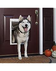 PetSafe Extreme Weather Energy Efficient Pet Door, White, Large