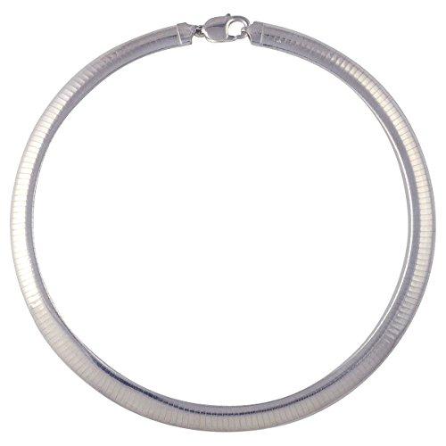 - Sterling Silver Omega 10mm 16