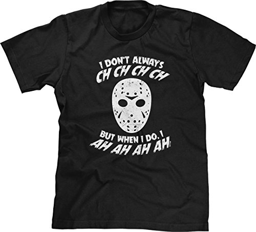 Blittzen Mens I Don't Always CH CH CH CH, 2XL, Black]()