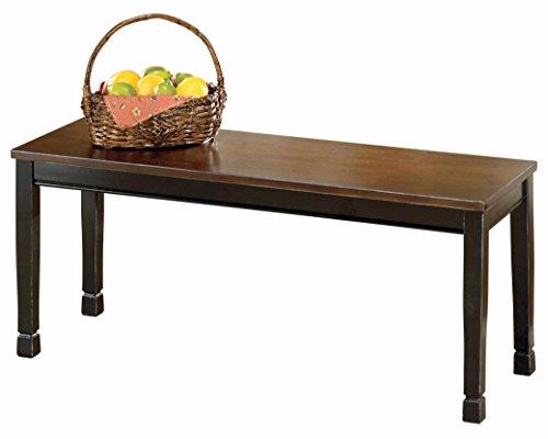 Owingsville Black/Brown Large Dining Room Bench