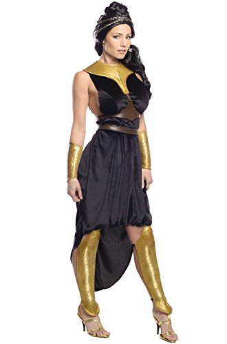 [Mememall Fashion Spartan Warriors 300 Rise of the Empire Deluxe Queen Gorgo Adult Costume] (Spartan Princess Costumes)