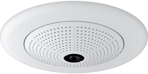 Mobotix Q25M-SEC-D12 5MP IP Dome Camera White – 360 Panoramic View